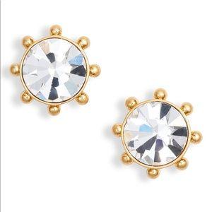 Kate Spade Flying Colors Bezel Stud Earrings
